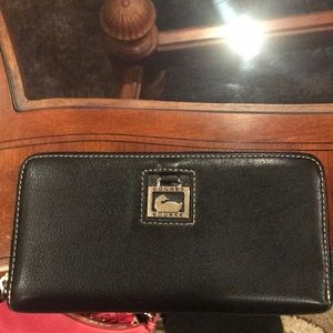 Dooney and Bourke zip around wallet